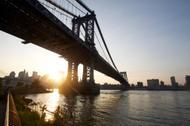 Coucher de soleil à Brooklyn