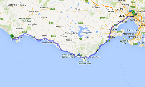 great-ocean-road-map