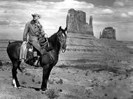 John Wayne à Monument Valley