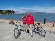 Nous, nos vélos et Golden Gate