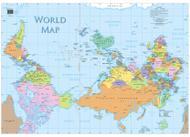 La carte renveré du monde